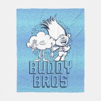 Trolls   Cloud Guy & Branch - Buddy Bros Fleece Blanket