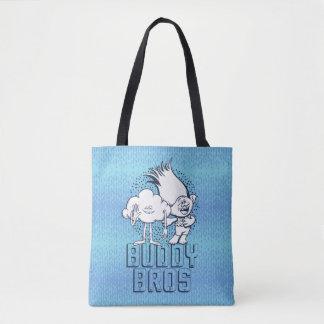 Trolls | Cloud Guy & Branch - Buddy Bros Tote Bag