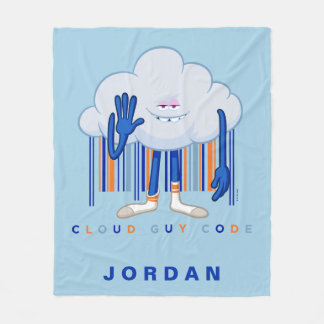 Trolls  Cloud Guy Code Fleece Blanket