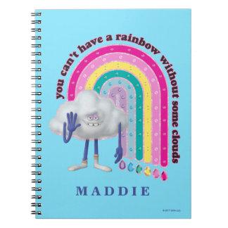 Trolls   Cloud Guy Rainbow Notebook