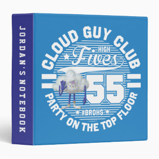 Trolls | Cloud Guy Salute 3 Ring Binder