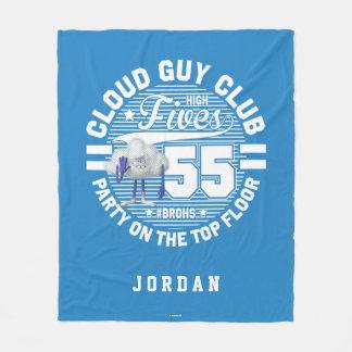 Trolls   Cloud Guy Salute Fleece Blanket
