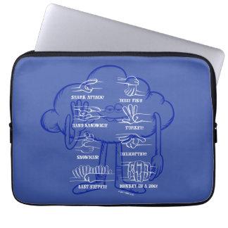 Trolls | Cloud Guy Waving Laptop Sleeve