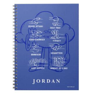 Trolls | Cloud Guy Waving Notebooks