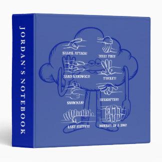 Trolls | Cloud Guy Waving Vinyl Binder