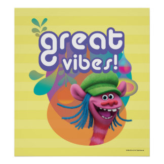 Trolls | Cooper - Great Vibes! 2 Poster