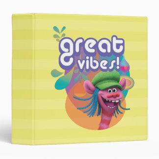 Trolls | Cooper - Great Vibes! 3 Ring Binder