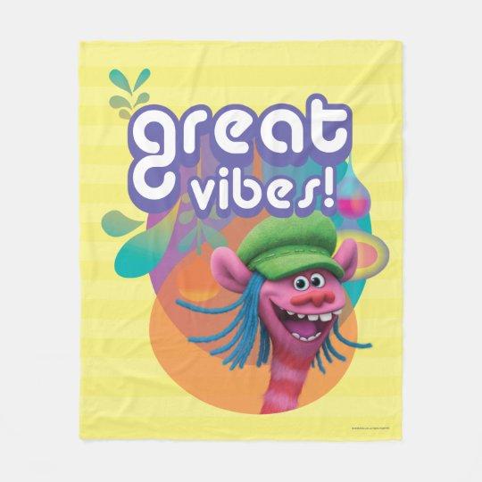 Trolls | Cooper - Great Vibes! Fleece Blanket