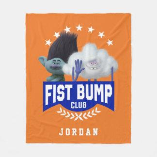 Trolls   Fist Bump Fleece Blanket