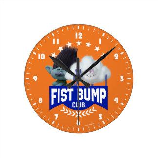 Trolls | Fist Bump Round Clock