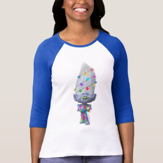 Trolls | Guy Diamond - Wrapped in Christmas Lights T-Shirt