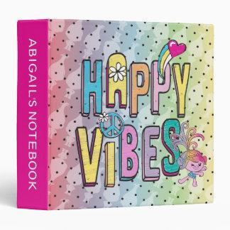 Trolls | Happy Dance Vinyl Binder
