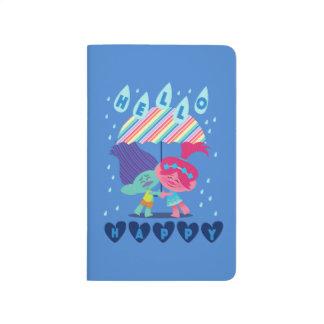 Trolls   Happy Rain Drops Journal