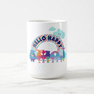 Trolls   Happy Rainbow Coffee Mug