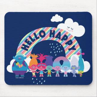 Trolls | Happy Rainbow Mouse Pad