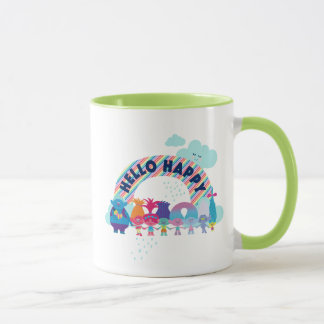 Trolls   Happy Rainbow Mug