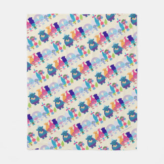 Trolls | Hug Time Pattern Fleece Blanket