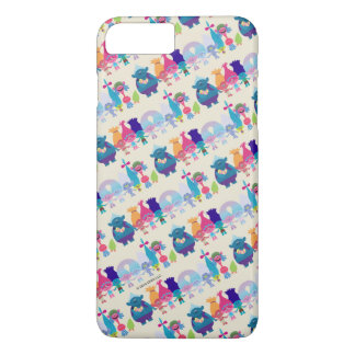 Trolls | Hug Time Pattern iPhone 7 Plus Case