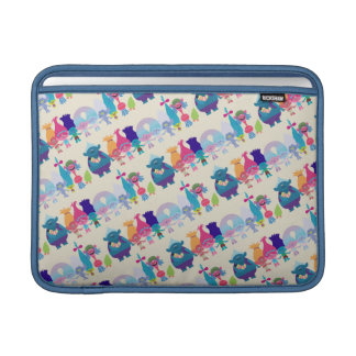 Trolls | Hug Time Pattern MacBook Sleeve