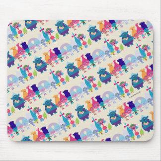 Trolls | Hug Time Pattern Mouse Pad