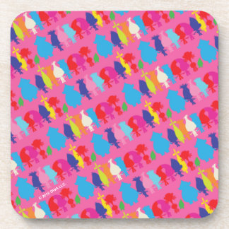 Trolls   Hugfest Pattern Coasters