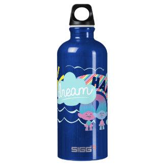 Trolls | I Dream Happy Rainbow Water Bottle