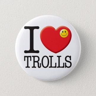 Trolls Love 2 Inch Round Button