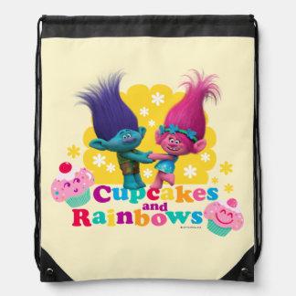 Trolls | Poppy & Branch - Cupcakes and Rainbows Drawstring Bag