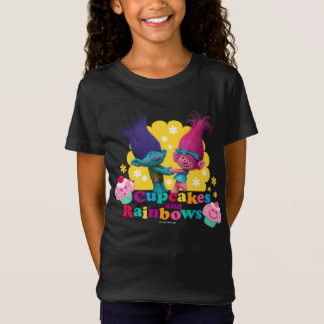 Trolls | Poppy & Branch - Cupcakes and Rainbows T-Shirt
