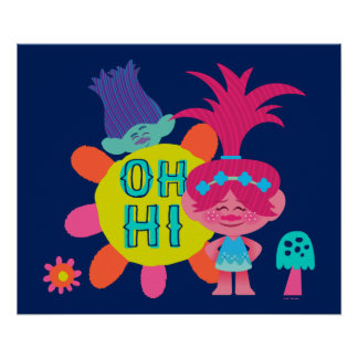 Trolls | Poppy & Branch - Oh Hi There 2 Poster