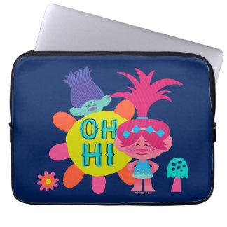 Trolls | Poppy & Branch - Oh Hi There Laptop Sleeve