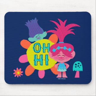 Trolls | Poppy & Branch - Oh Hi There Mouse Pad