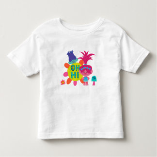 Trolls   Poppy & Branch - Oh Hi There Toddler T-shirt