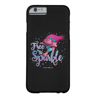 Trolls | Poppy Free to Sparkle Barely There iPhone 6 Case