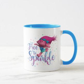 Trolls   Poppy Free to Sparkle Mug