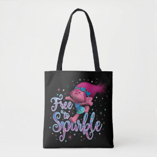 Trolls | Poppy Free to Sparkle Tote Bag
