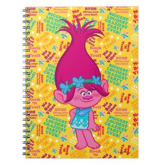 Trolls | Poppy - Hair to Stay! Spiral Notebooks