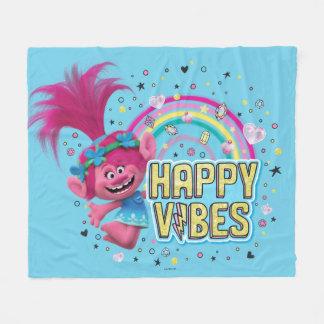 Trolls   Poppy Happy Vibes Fleece Blanket