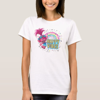 Trolls | Poppy Happy Vibes T-Shirt