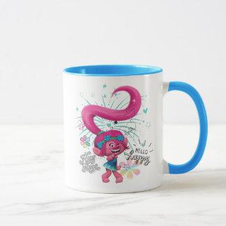 Trolls   Poppy Hello Happy Mug