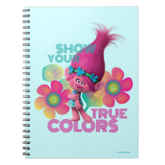 Trolls | Poppy - Show Your True Colors Spiral Notebook