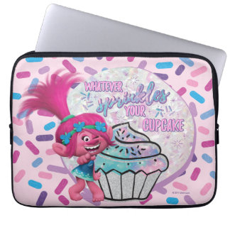 Trolls | Poppy Sprinkle your Cupcake Laptop Sleeve