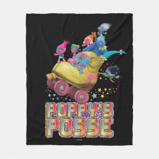 Trolls | Poppy's Posse Fleece Blanket