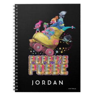 Trolls   Poppy's Posse Notebooks