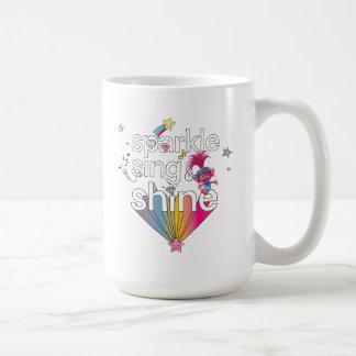 Trolls   Poppy's Sparkle Sing & Shine Coffee Mug