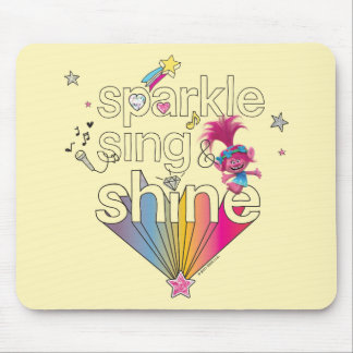 Trolls | Poppy's Sparkle Sing & Shine Mouse Pad