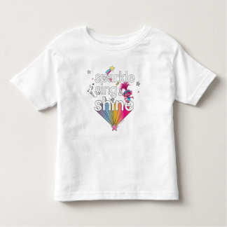Trolls | Poppy's Sparkle Sing & Shine Toddler T-shirt