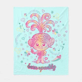 Trolls   Princess Poppy Fleece Blanket