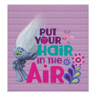 Trolls | Put Your Hair in the Air 2 Poster
