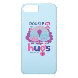 Trolls | Satin & Chenille - Double the Hugs iPhone 8 Plus/7 Plus Case